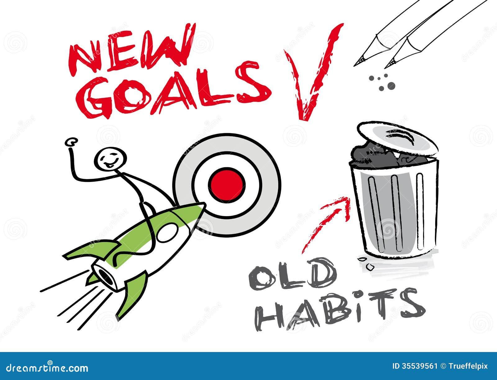Nowi cele, starzy przyzwyczajenia