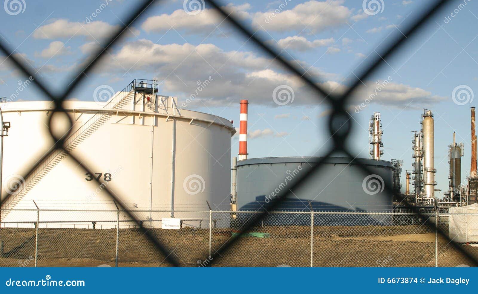 Nowożytna rafineria ropy naftowej