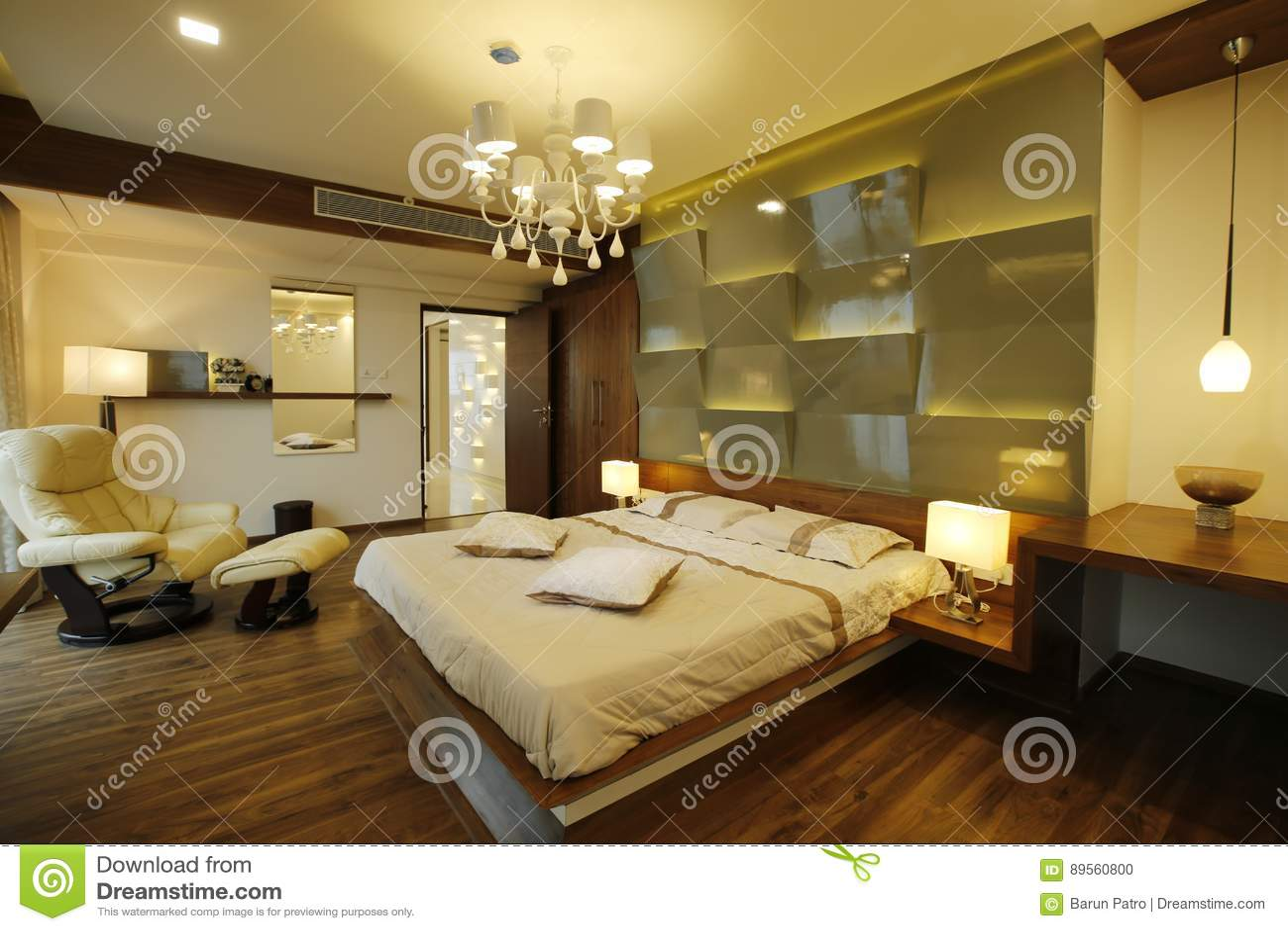 Nowożytna sypialnia, Calicut, India