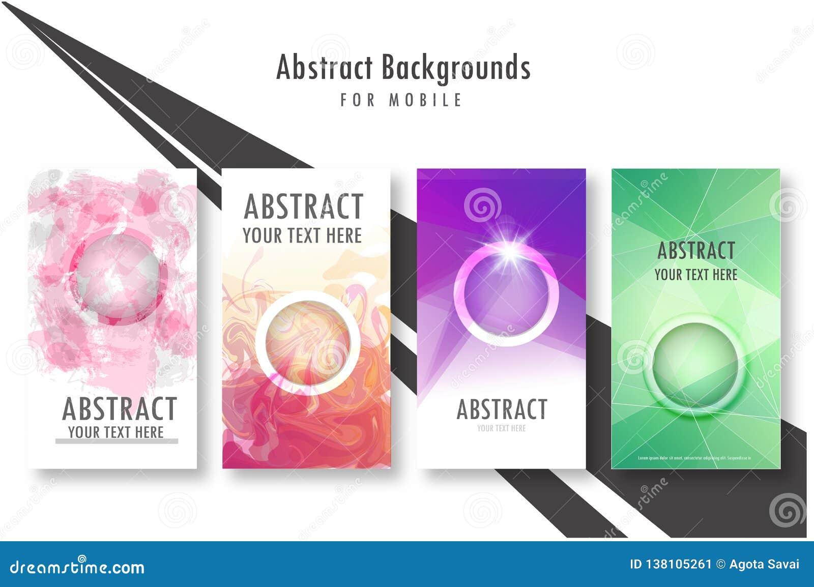 Nowożytna Wektorowa abstrakcjonistyczna broszurka, książka, ulotka lub projekta szablon,