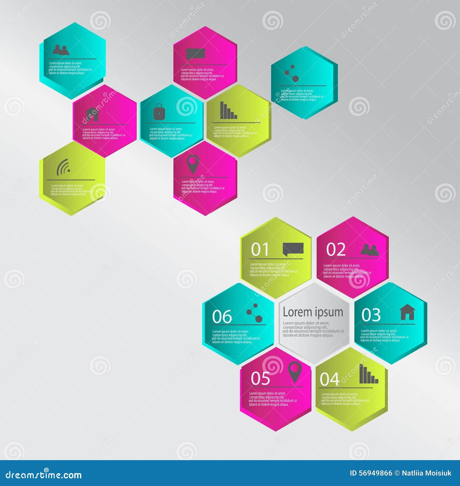 Nowożytni infographics elementy również zwrócić corel ilustracji wektora