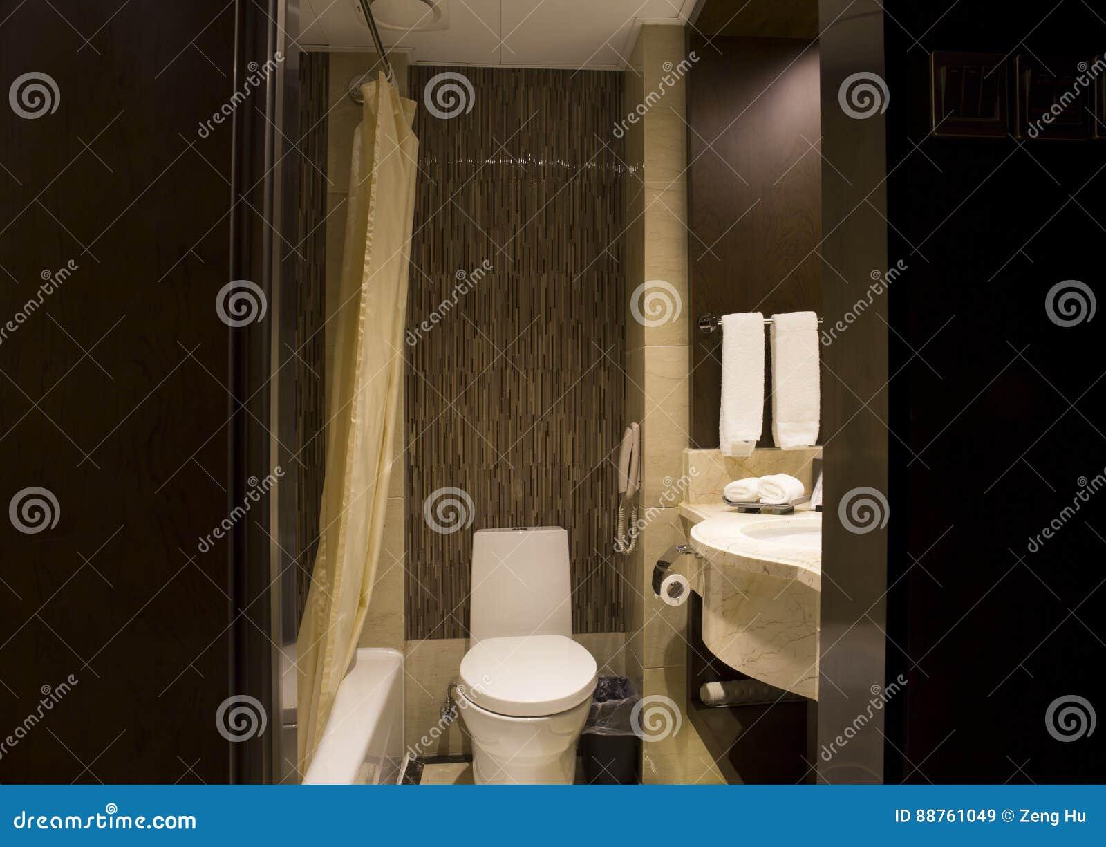 Nowożytny łazienka układ