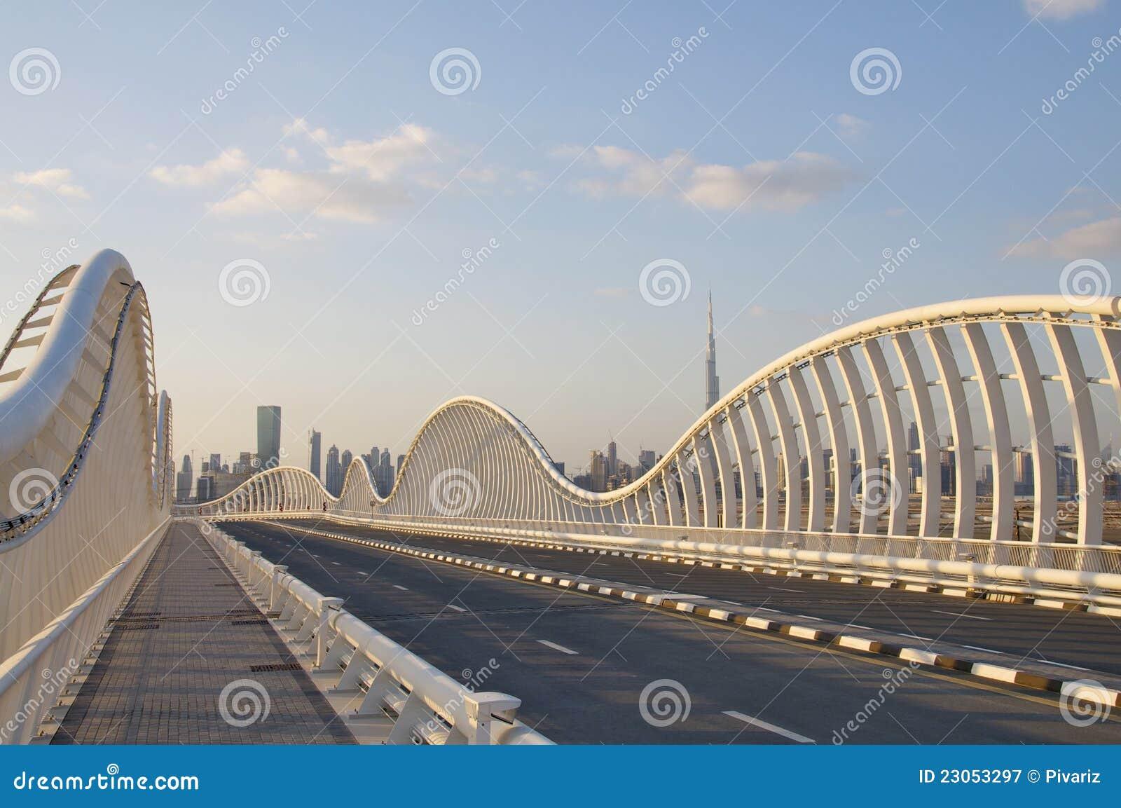 Nowożytny bridżowy Dubai