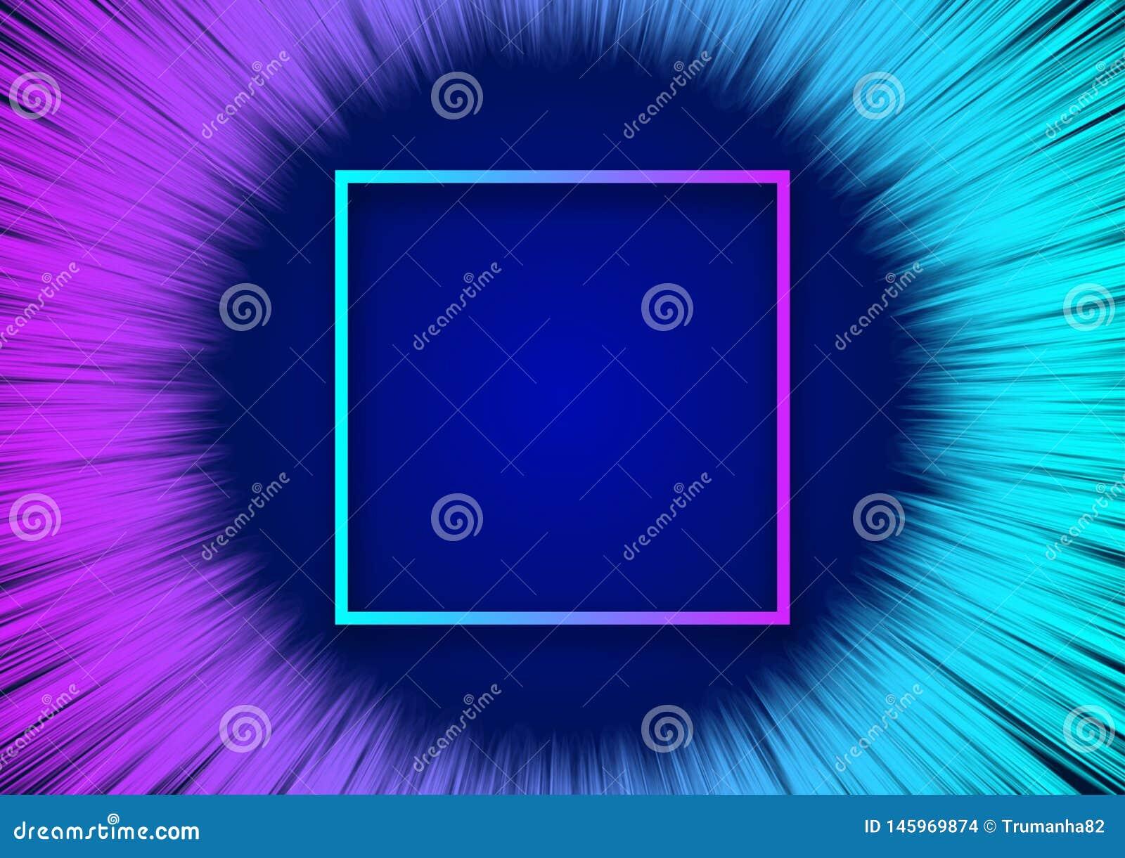 Nowożytny Kolorowy przepływ dla Abstrakcjonistycznego tła