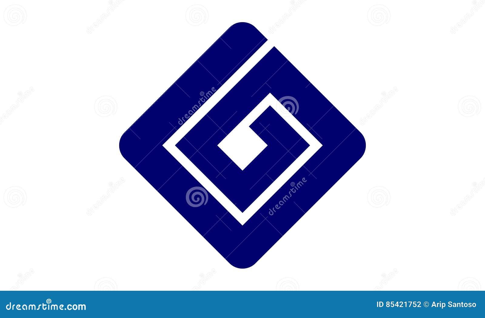 Nowożytny loga rozwiązania list G