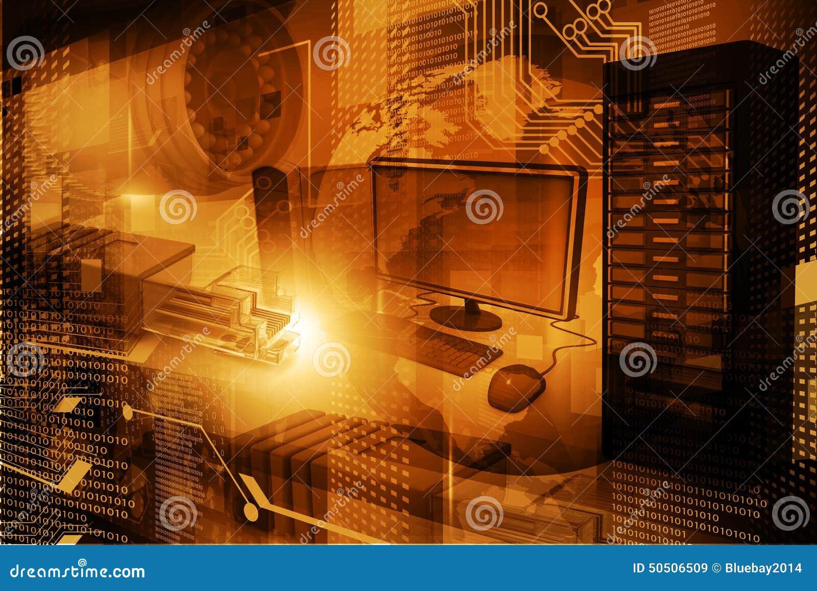Nowożytny technologii cyfrowej tło