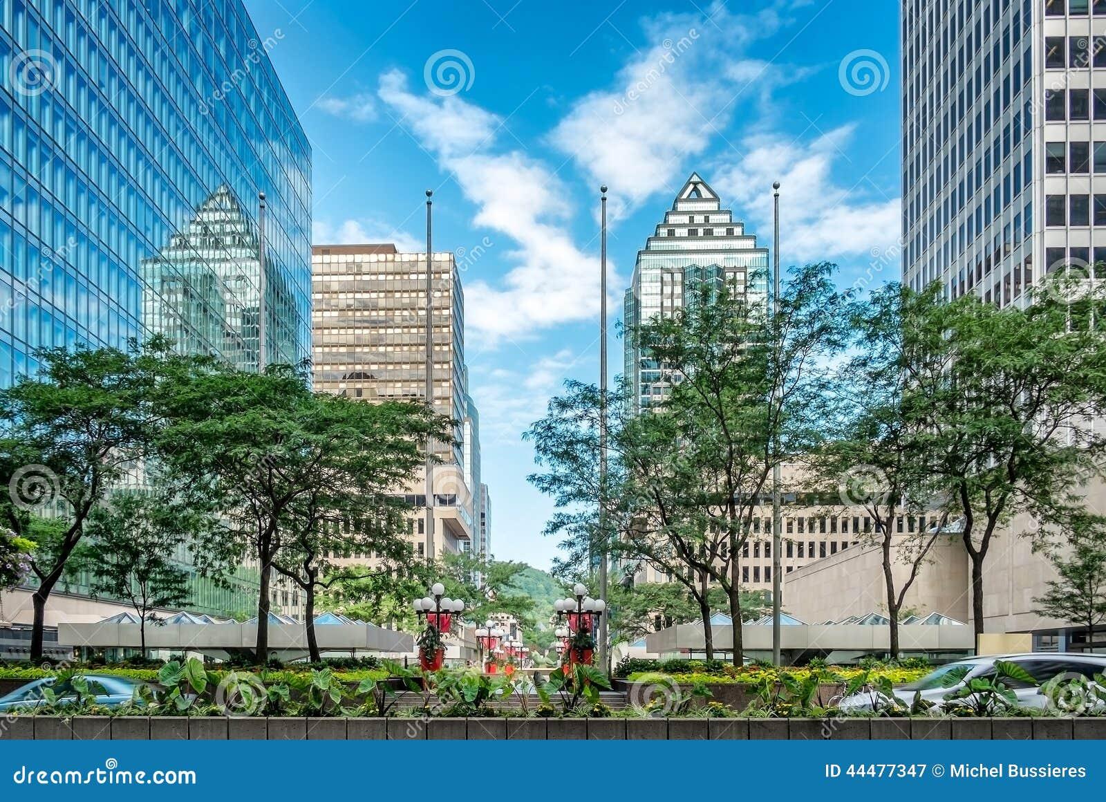 Nowożytny w centrum Montreal