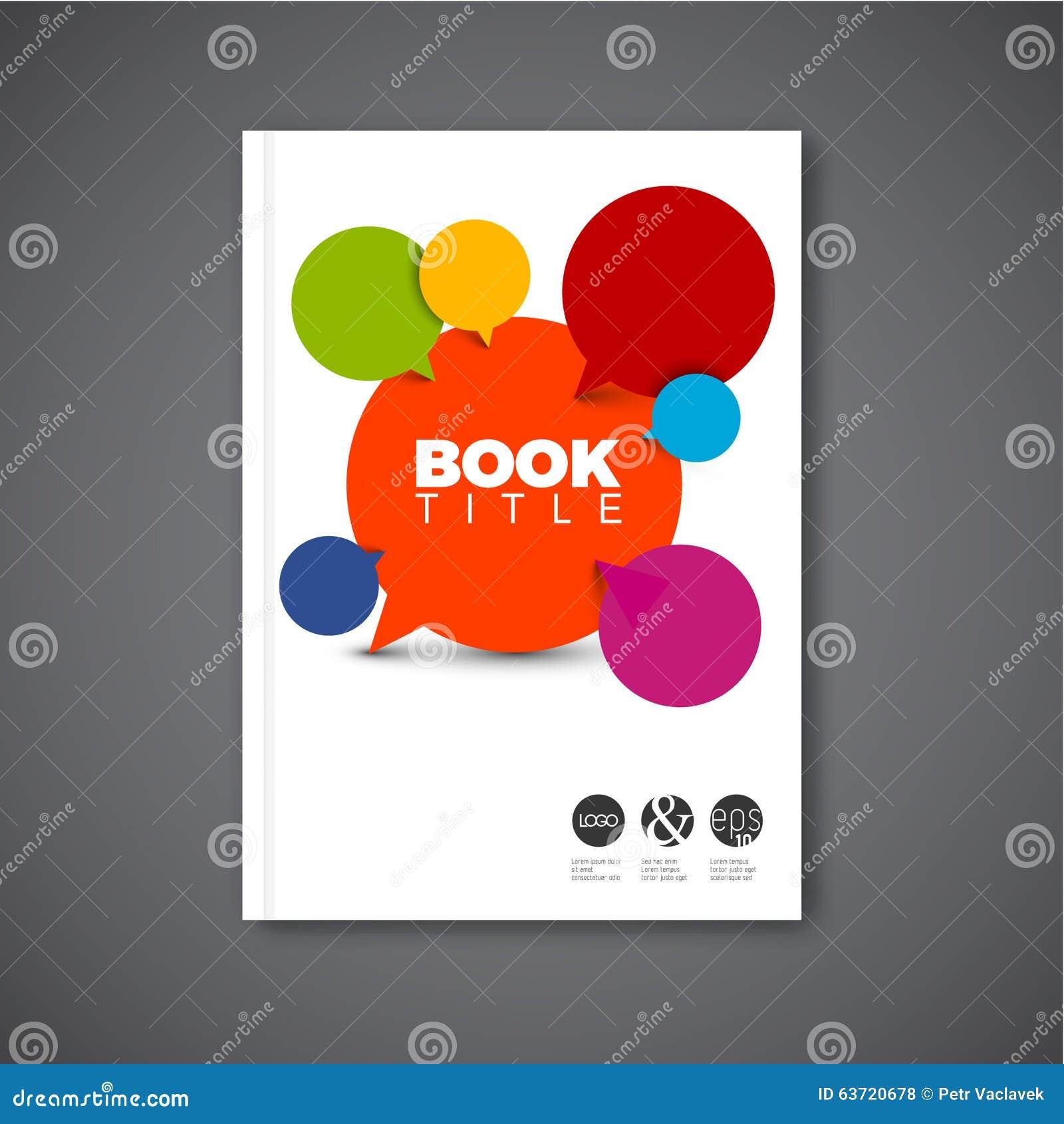 Nowożytny Wektorowy abstrakcjonistyczny broszurka projekta szablon