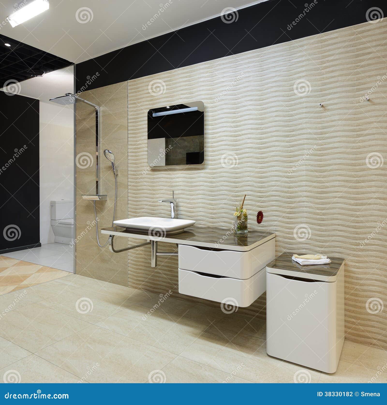 Nowożytny wnętrze. Łazienka
