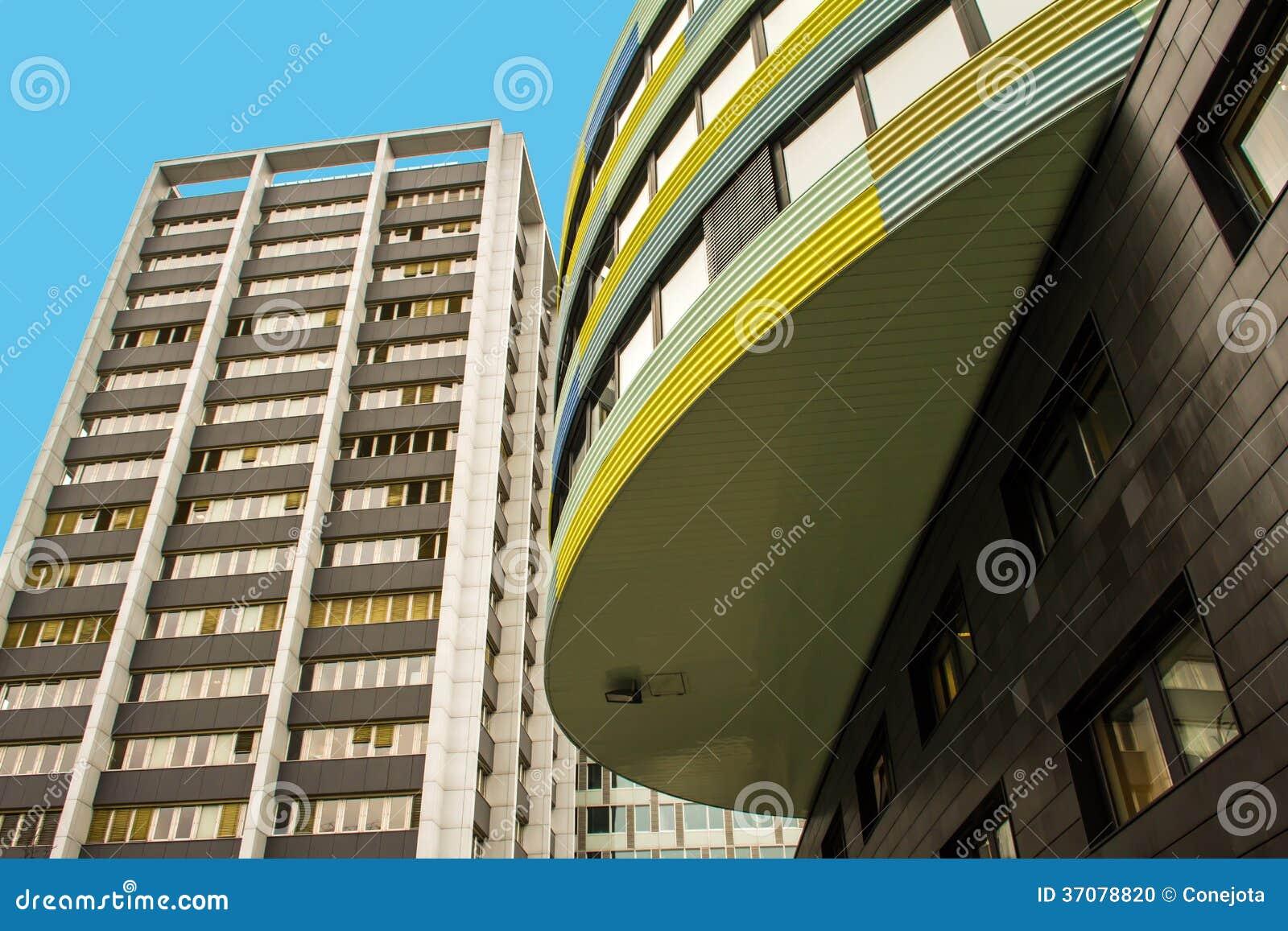 Download Nowożytna Architektura W Berlin Zdjęcie Stock - Obraz złożonej z fasada, eurydice: 37078820