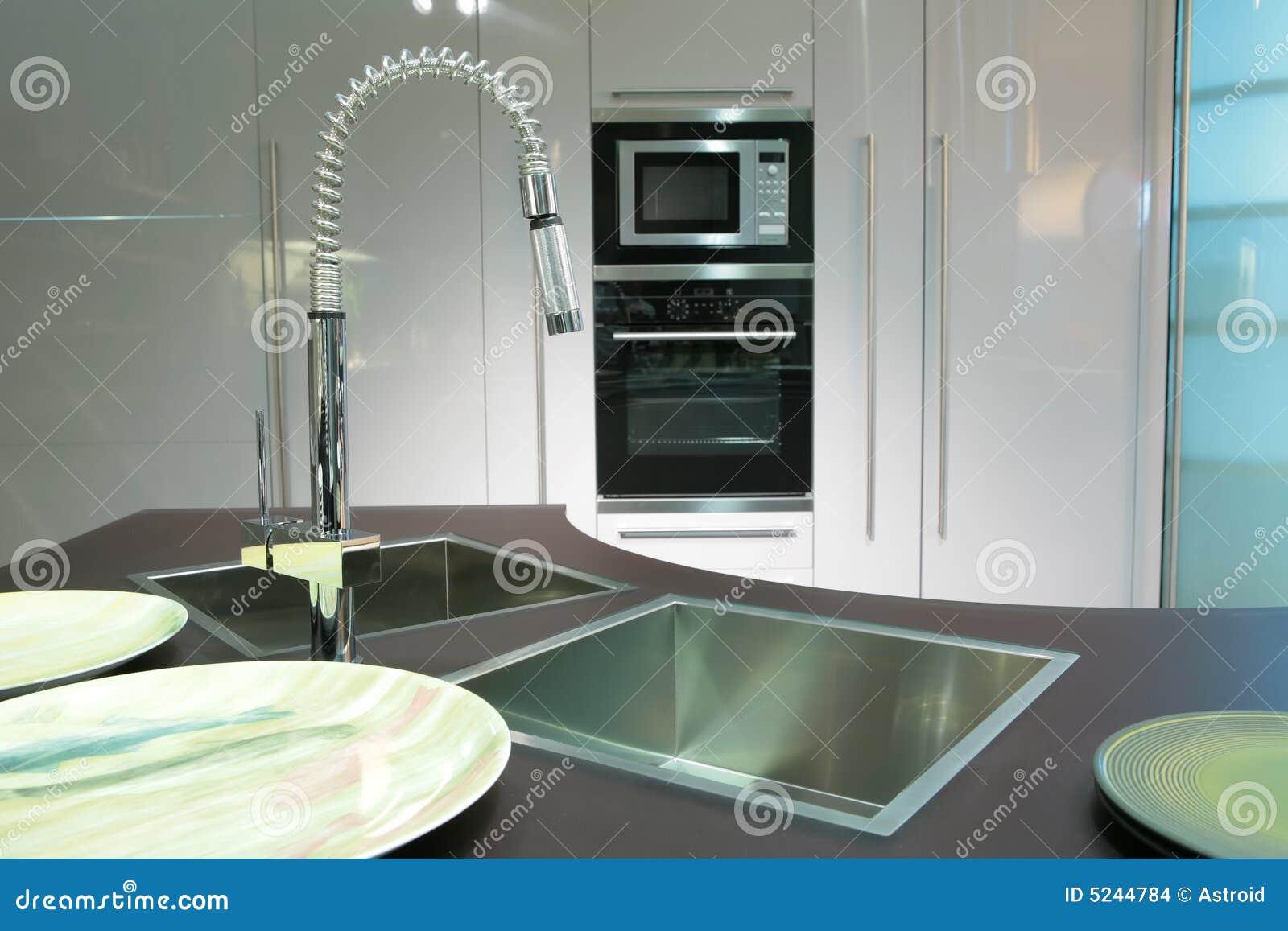 Nowoczesna Kuchnia Obrazy Stock  Obraz 5244784 -> Kuchnia Polska Obrazy