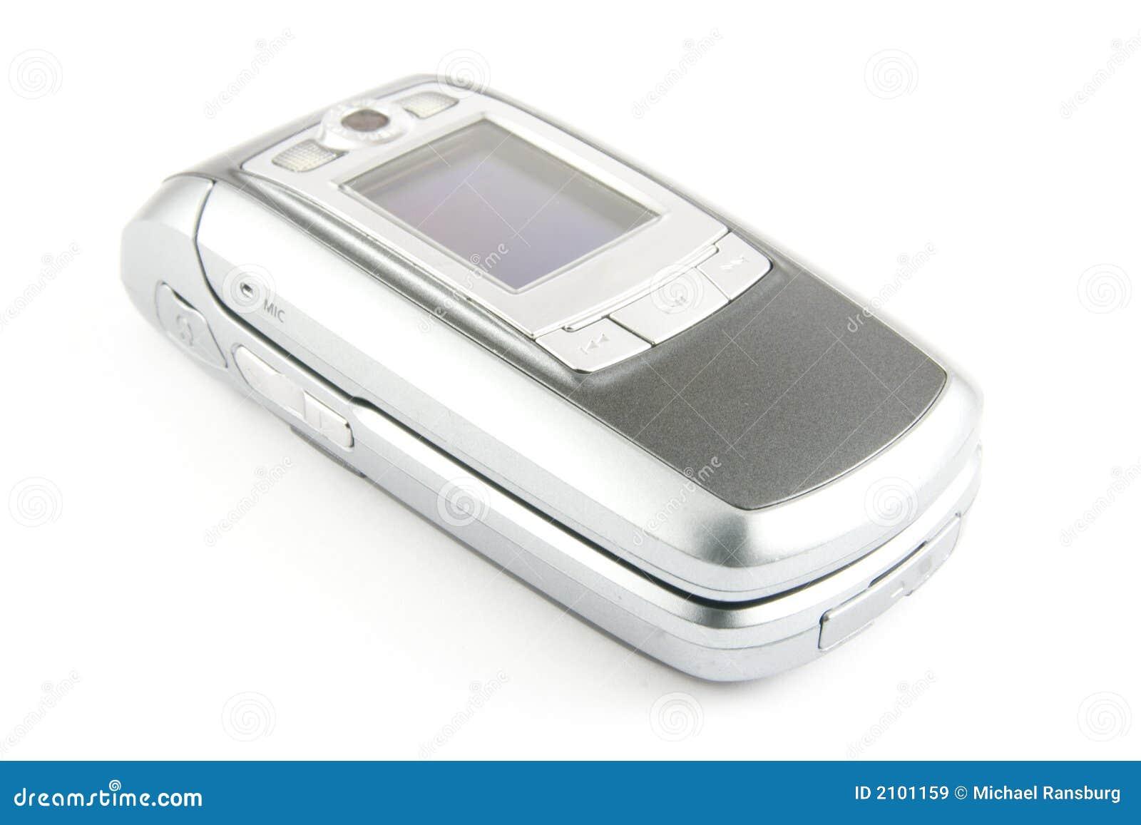Nowoczesne clamshell telefon