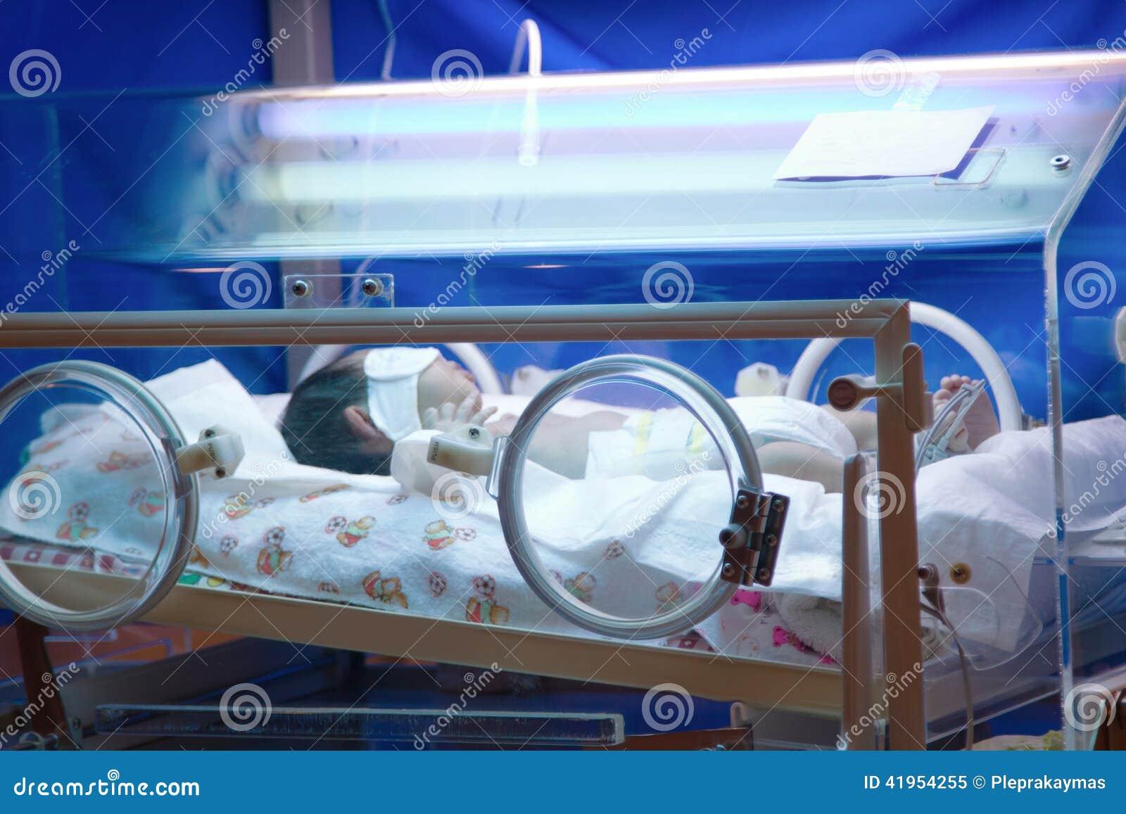 Nowonarodzona przedwczesność w inkubatorze