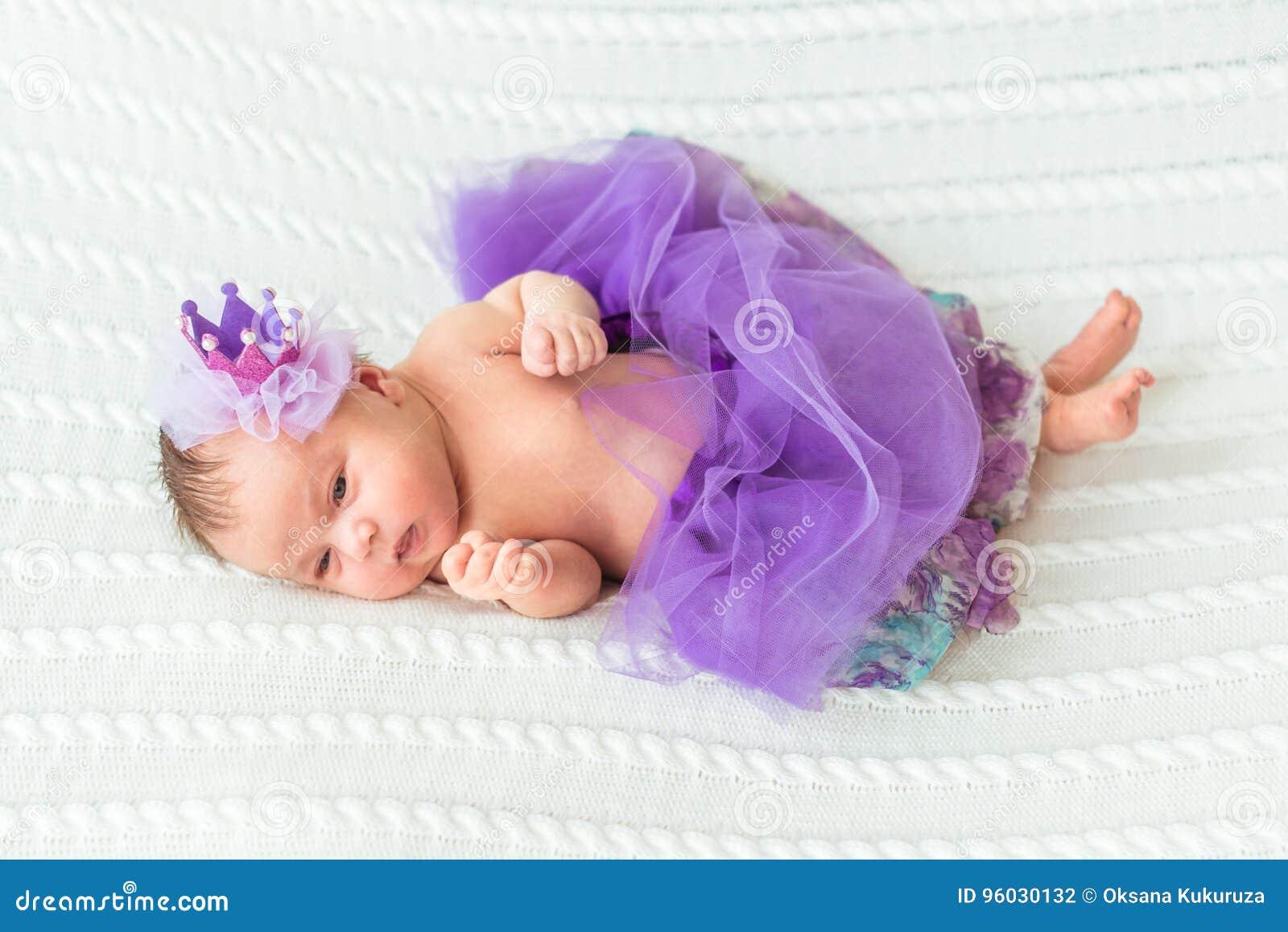 Nowonarodzony dziewczynki princess