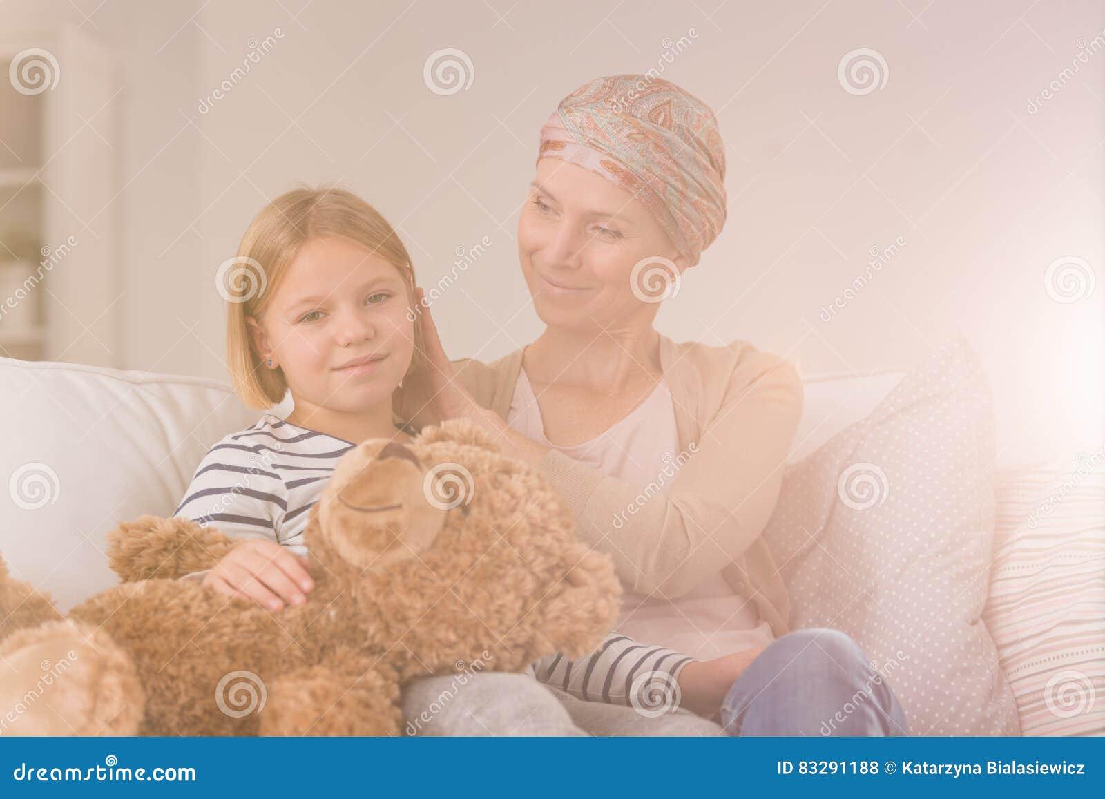 Nowotwór kobieta z córką