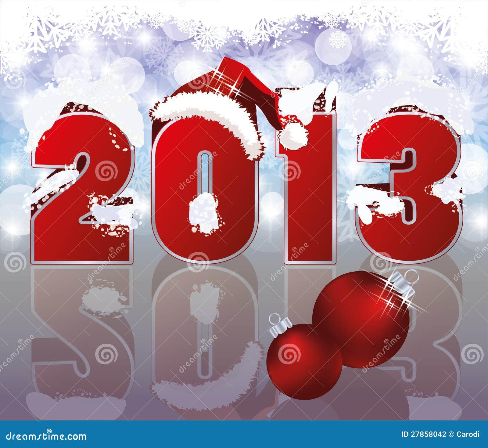 Nowy 2013 Rok Tło