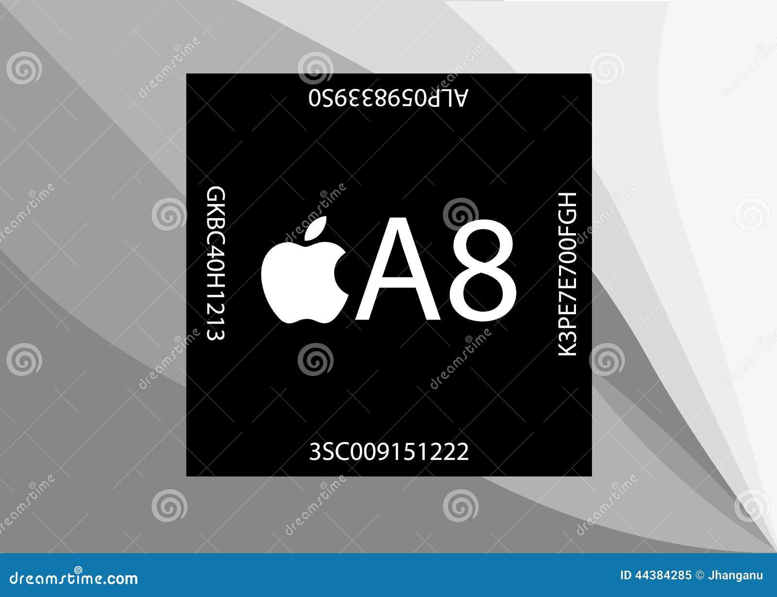 Nowy Apple A8 procesor
