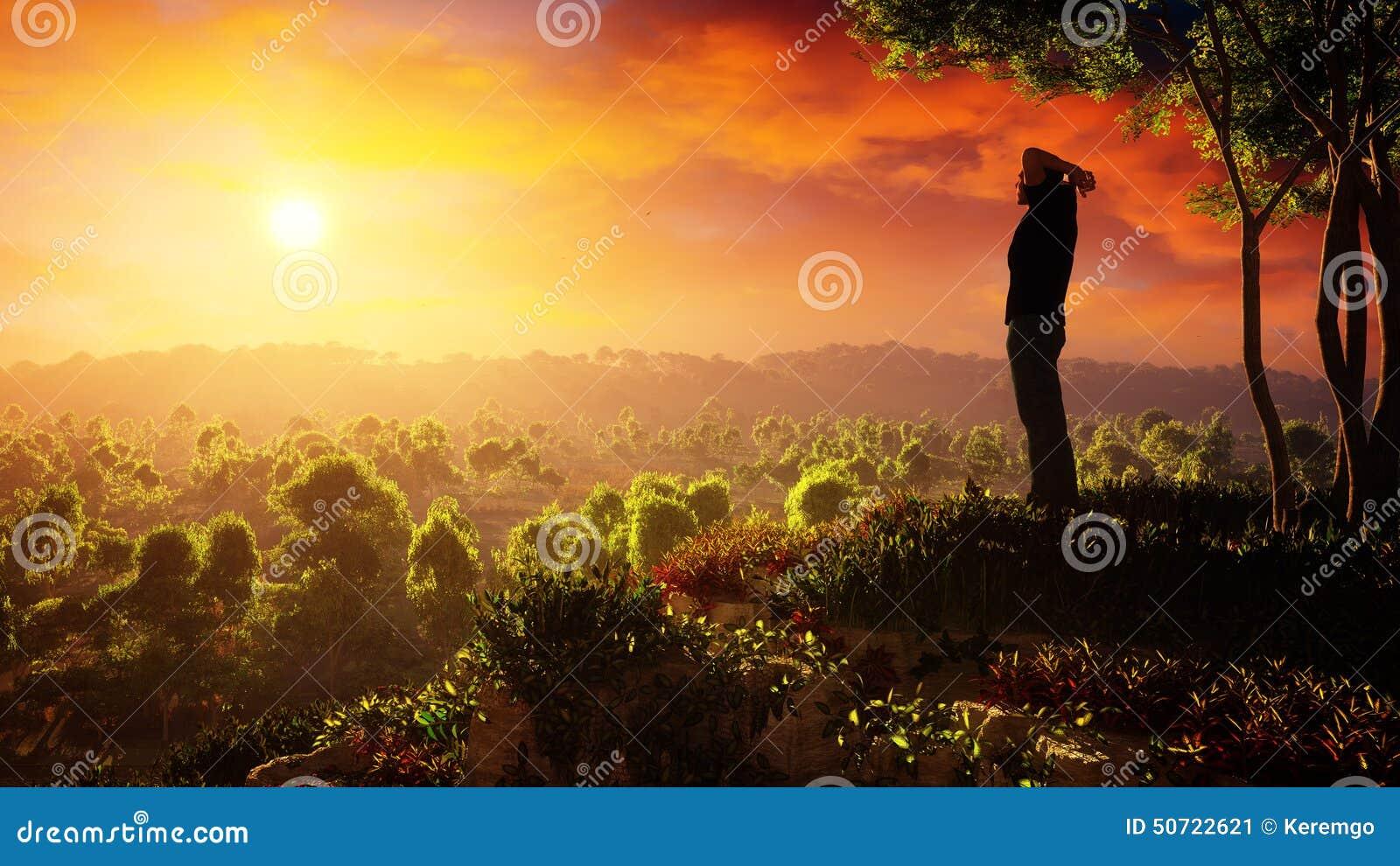 Nowy dzień nadzieja wzrosty