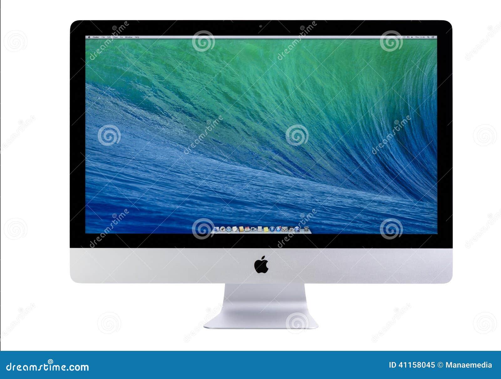 Nowy iMac 27 Z OS X indywidualistami