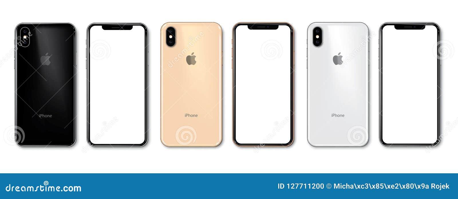 Nowy iPhone Xs w 3 kolorach