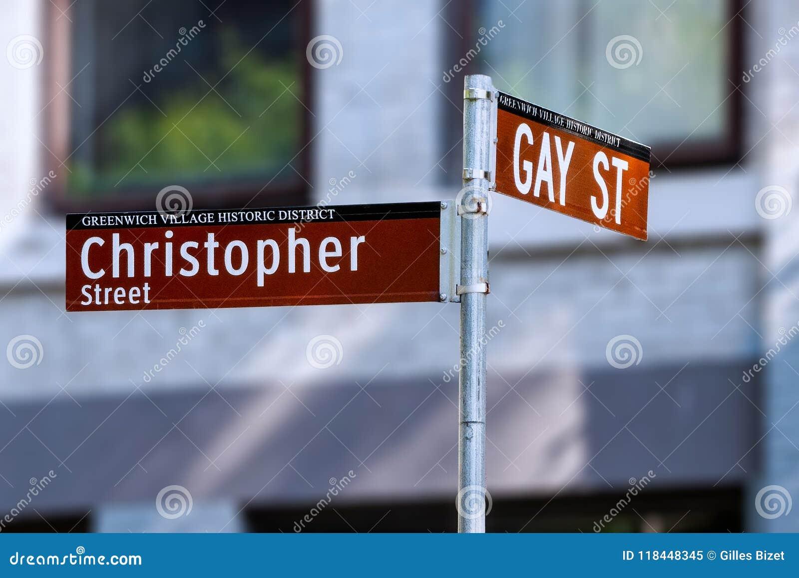 Nowy Jork - Homoseksualna ulica