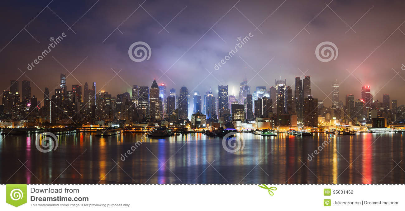 Nowy Jork linia horyzontu