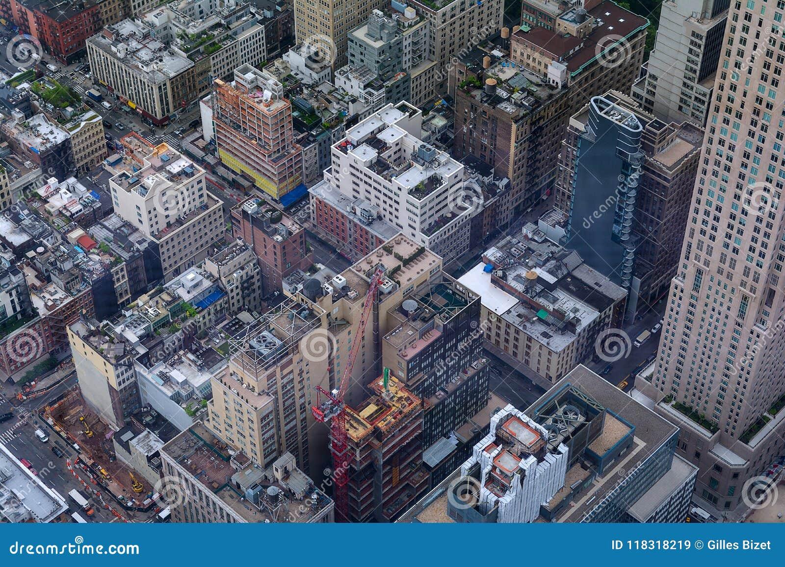 Nowy Jork - niebo widok