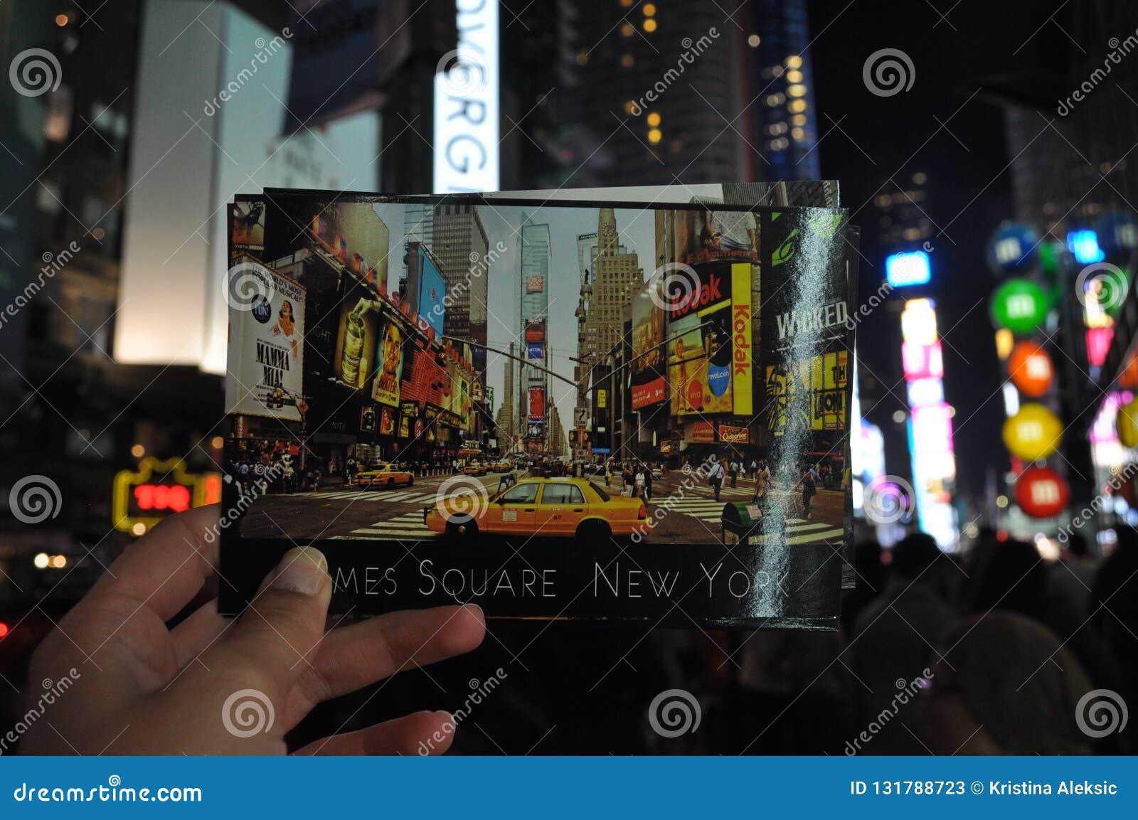 Nowy Jork noce