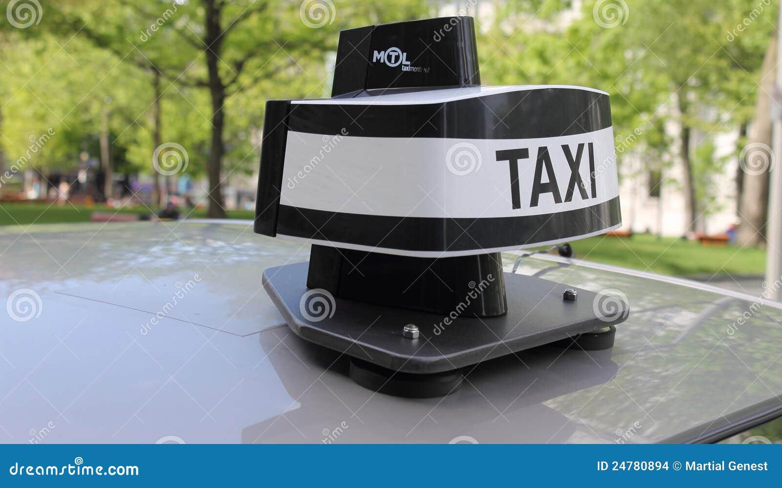 Nowy kopuły taxi