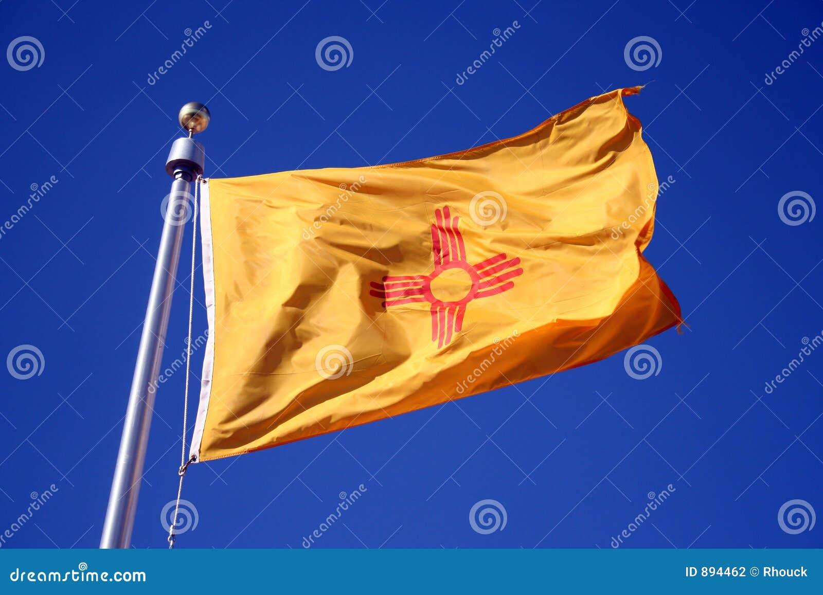 Nowy Meksyk bandery