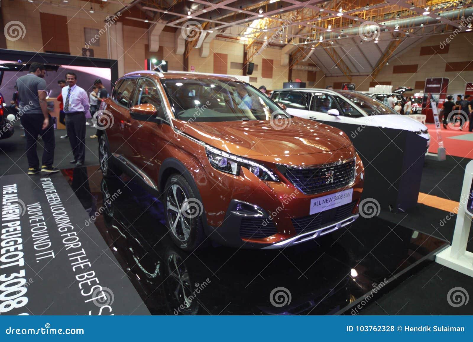 Nowy Peugeot 3008 być przedstawieniem przy 2017 Malezja samochodu autoshow
