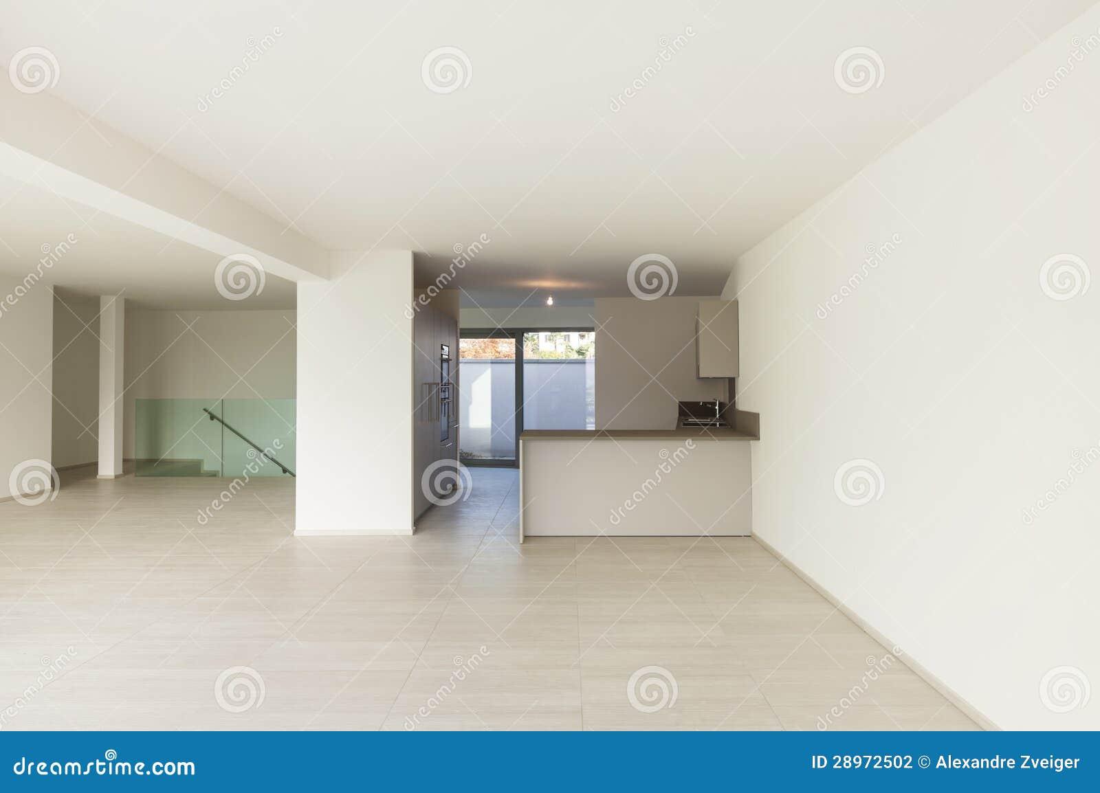 Nowy pusty mieszkanie