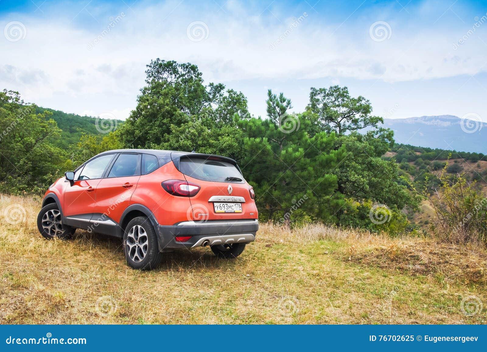 Nowy Renault Kaptur samochód