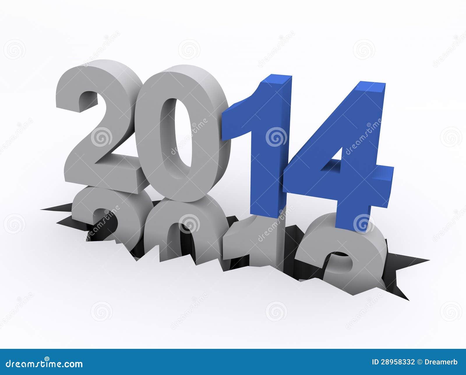 Nowy Rok 2014 versus 2013