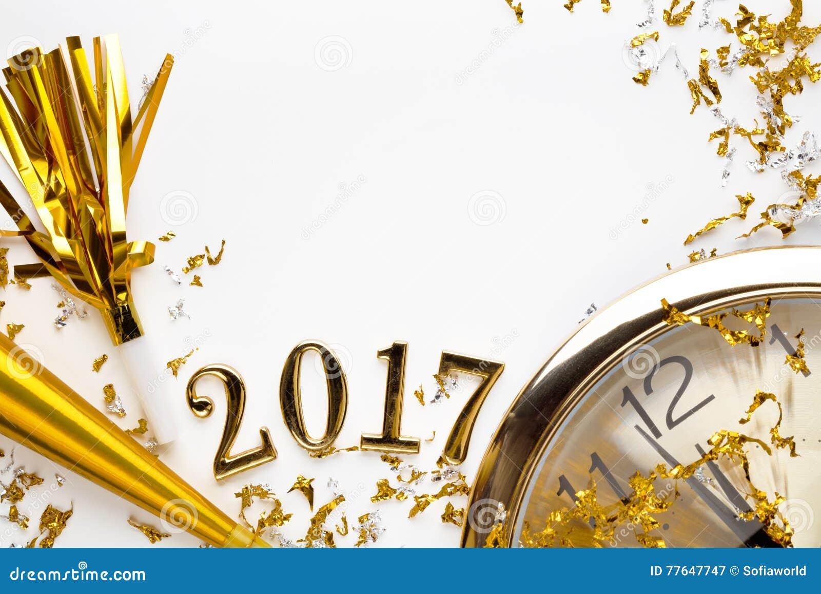 Nowy rok 2017 dekoracja