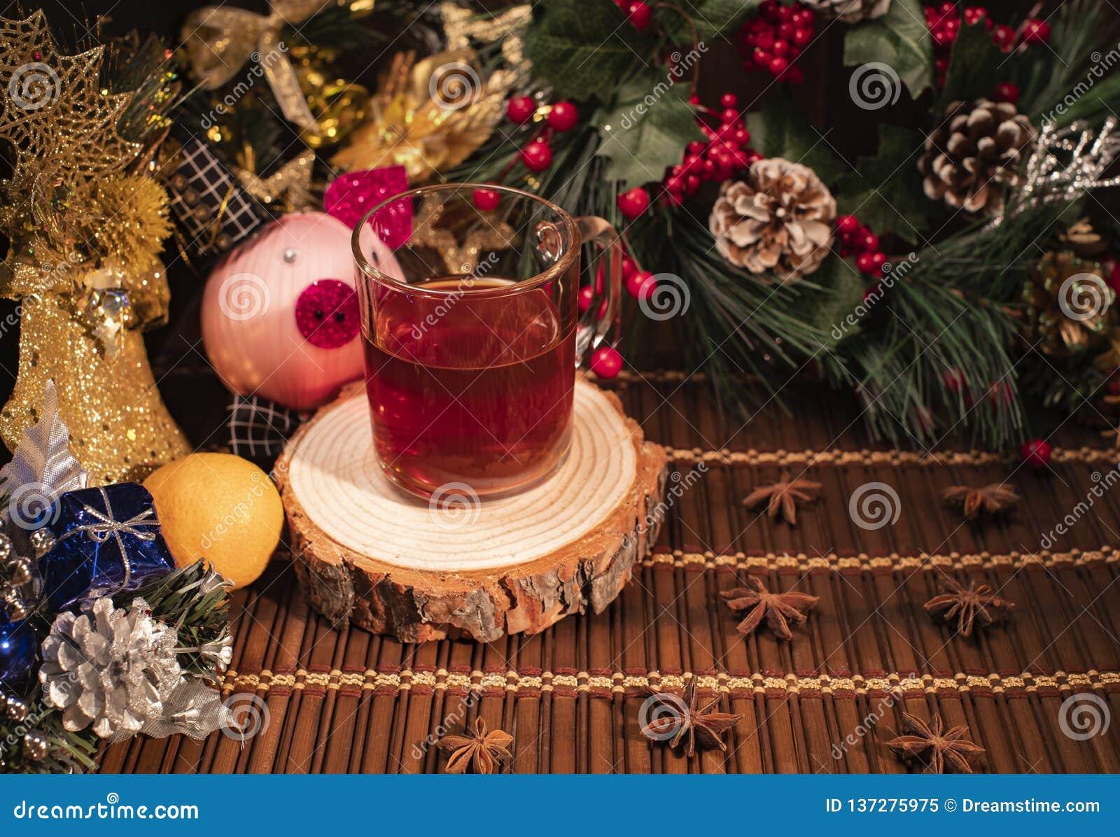 Nowy Rok i boże narodzenie wystrój