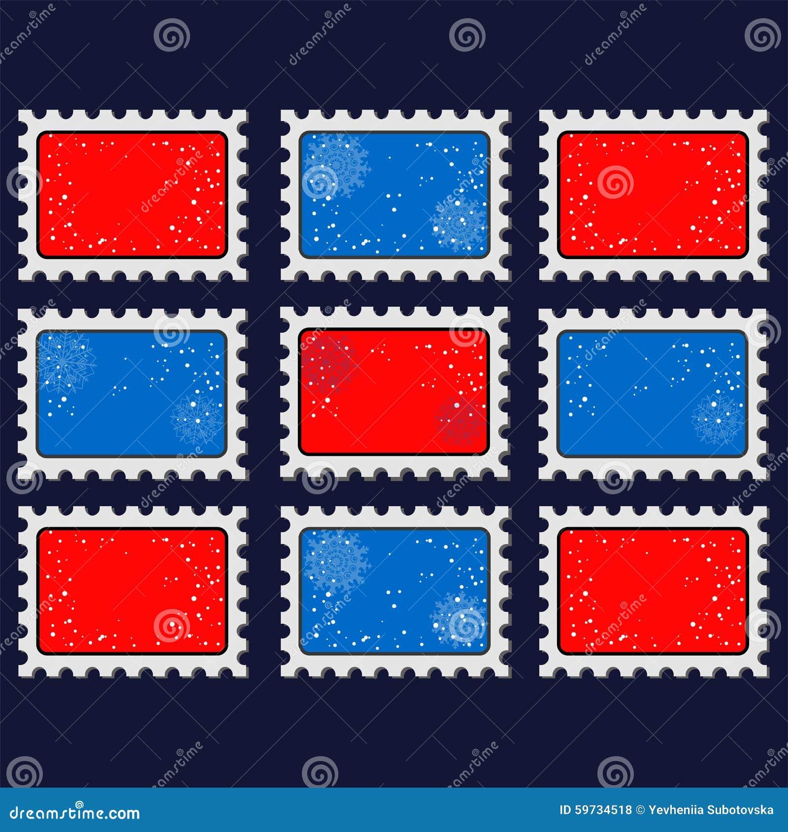 2016 Nowy rok stemplowi szablony Ilustracja znaczka ikon szablony z 2016 znakiem