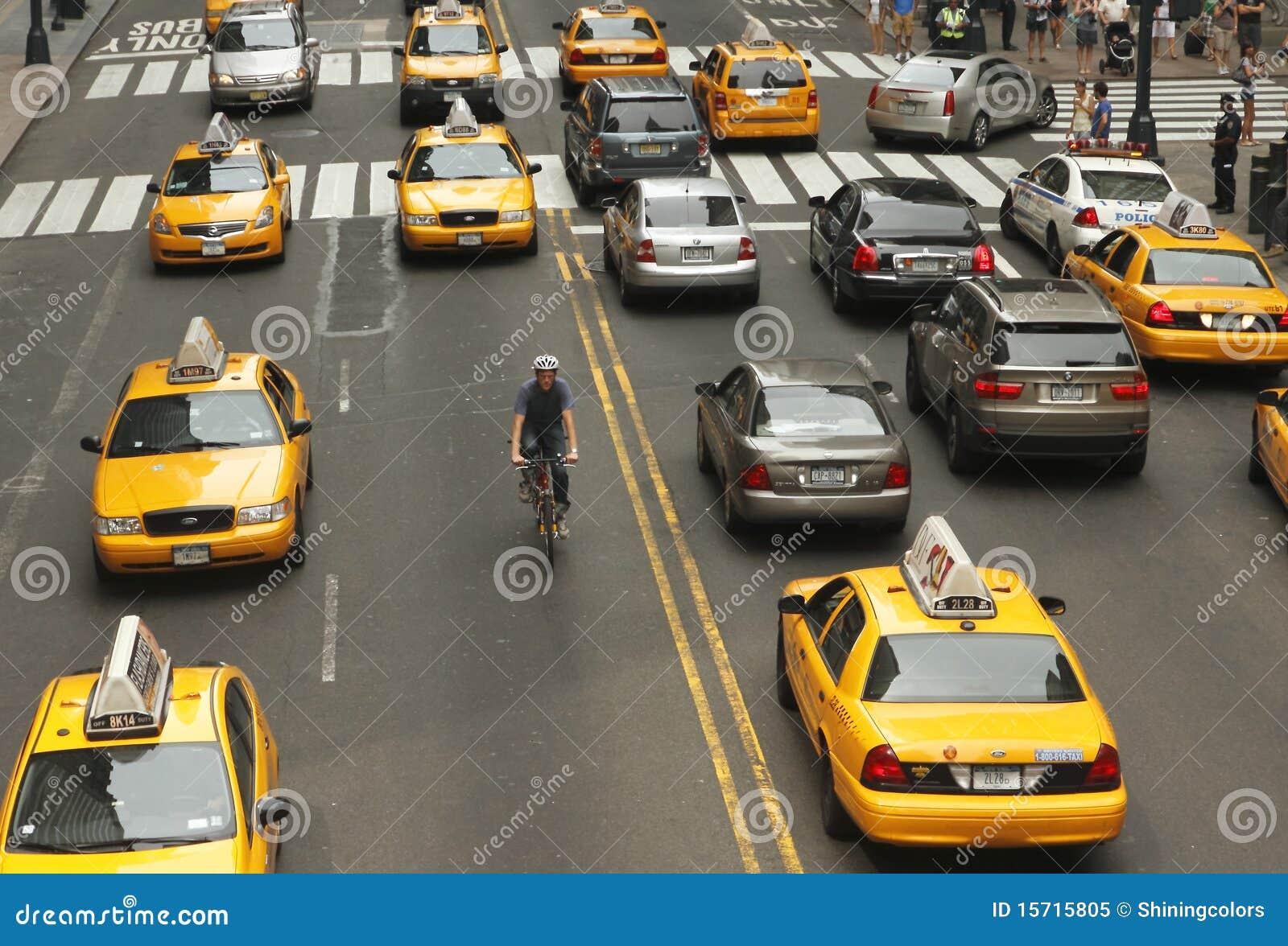 Nowy ruch drogowy York