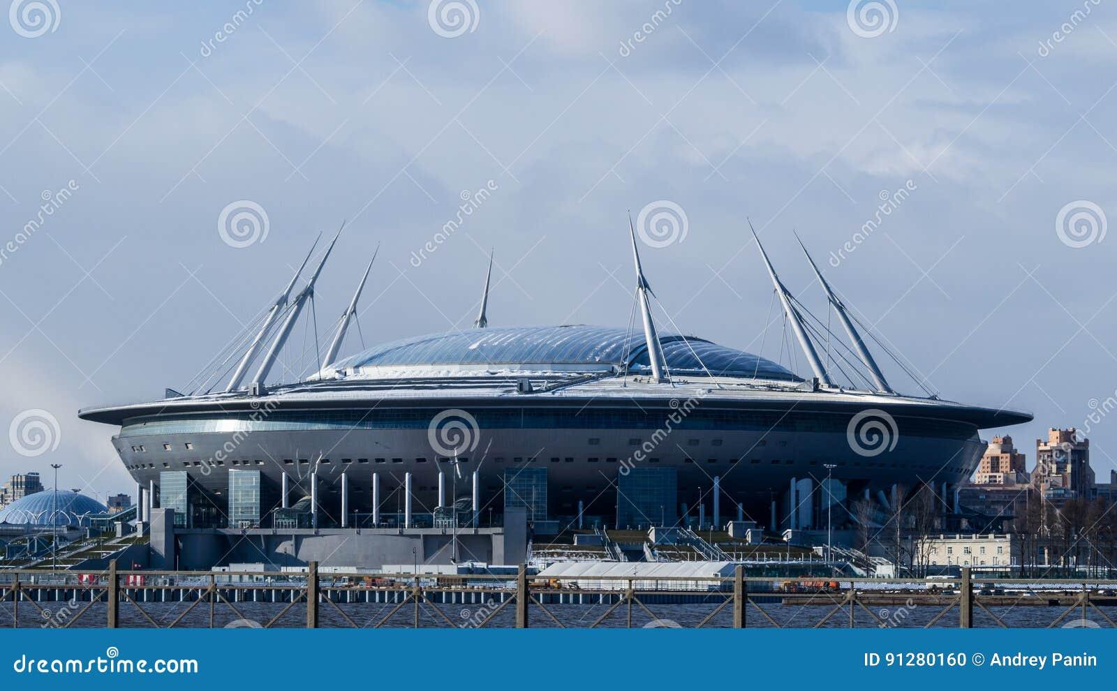 Nowy stadion futbolowy w St Petersburg