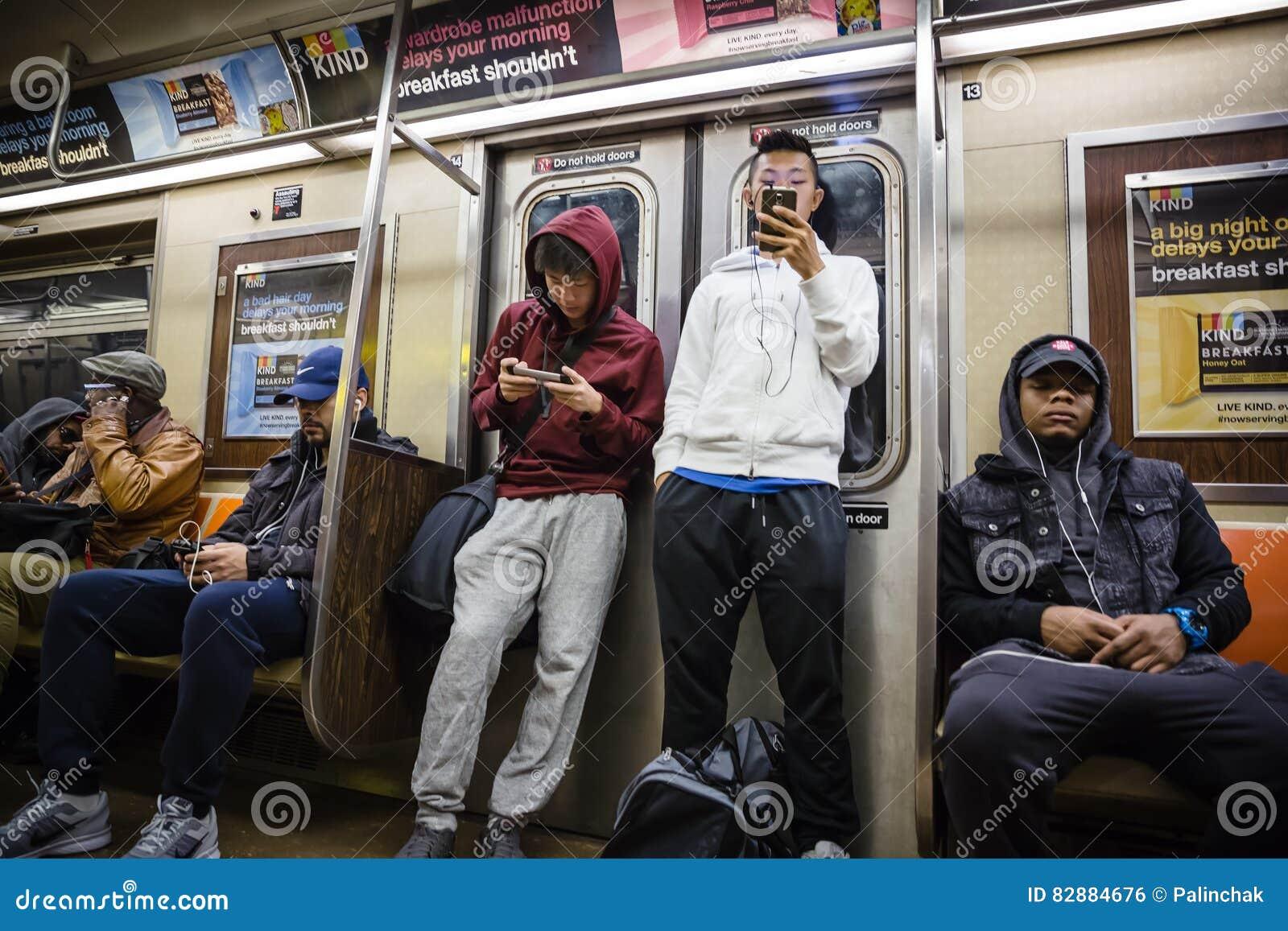 Nowy York metro city
