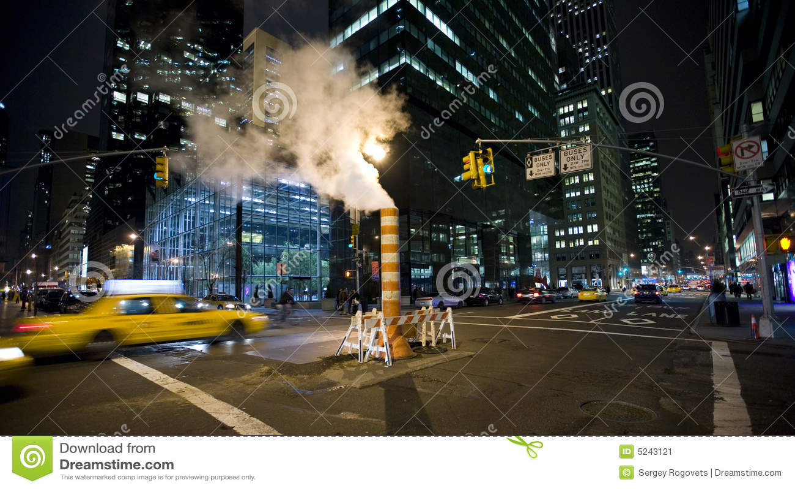 Nowy York noc