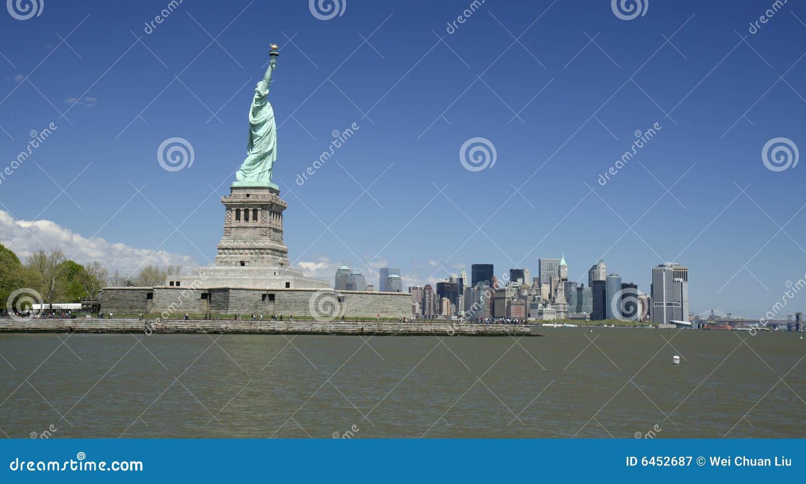Nowy York posąg wolności