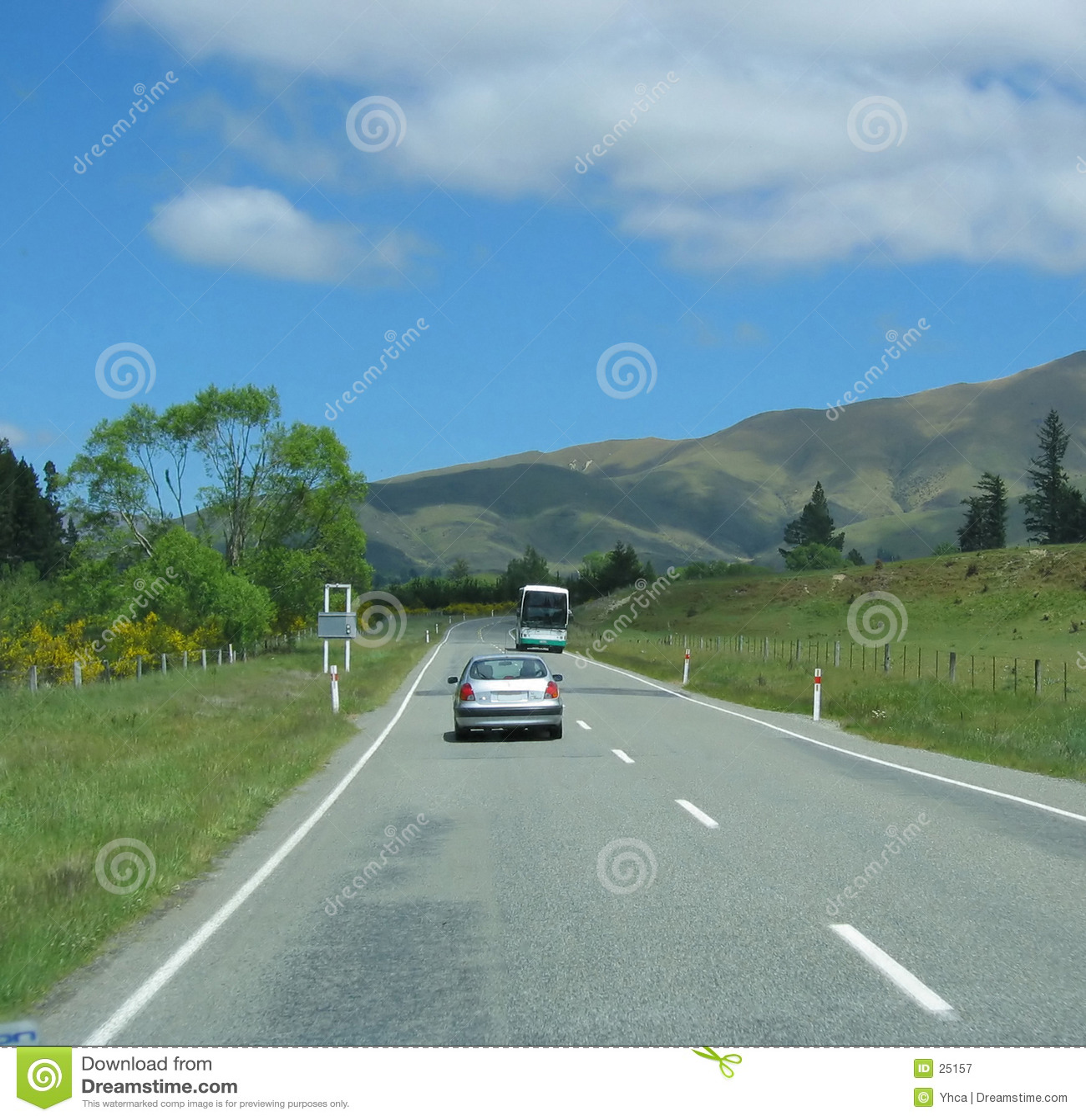 Nowy zeland highway pojazdów