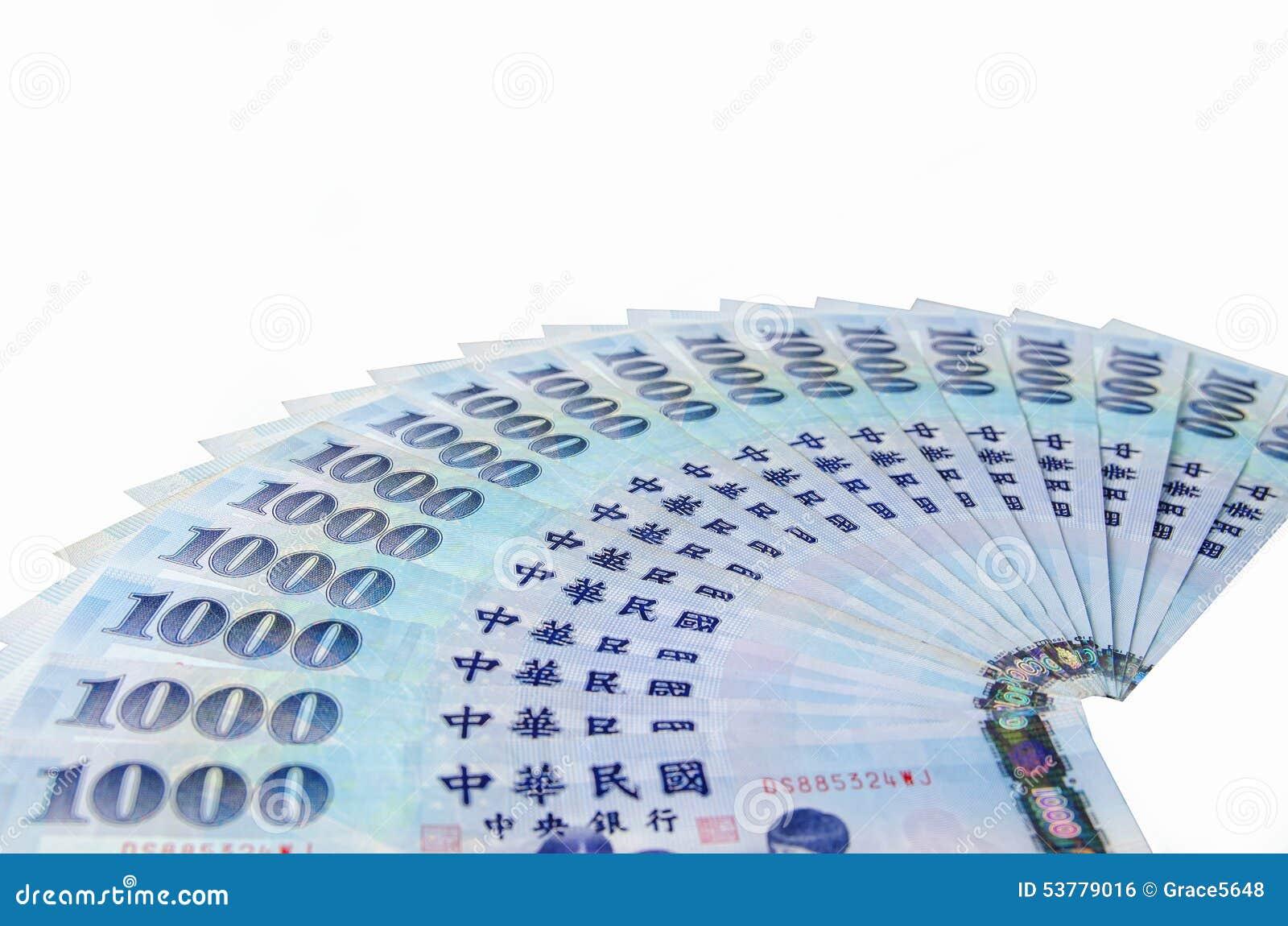 1000 Nowych Tajwańskich dolarów