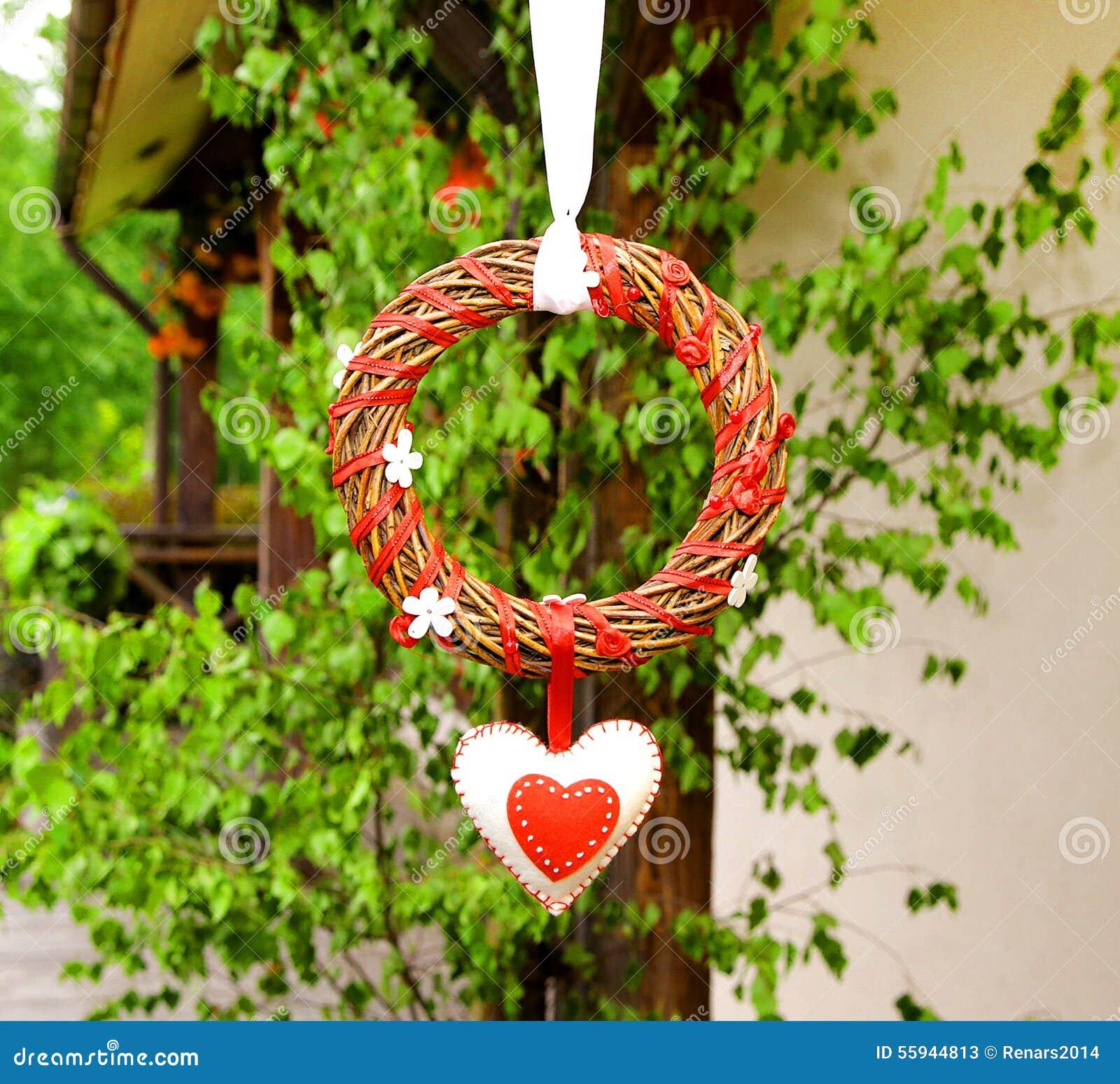 Nozze del cerchio e decorazione di giorno di biglietti di S. Valentino