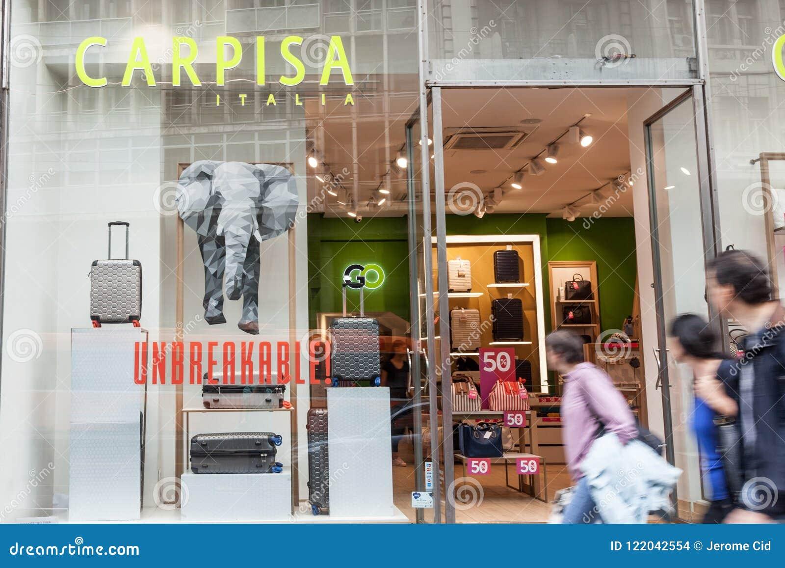 3a78a5e1d2 Logo Of Carpisa On Their Main Stores In Belgrade. Carpisa Is An ...