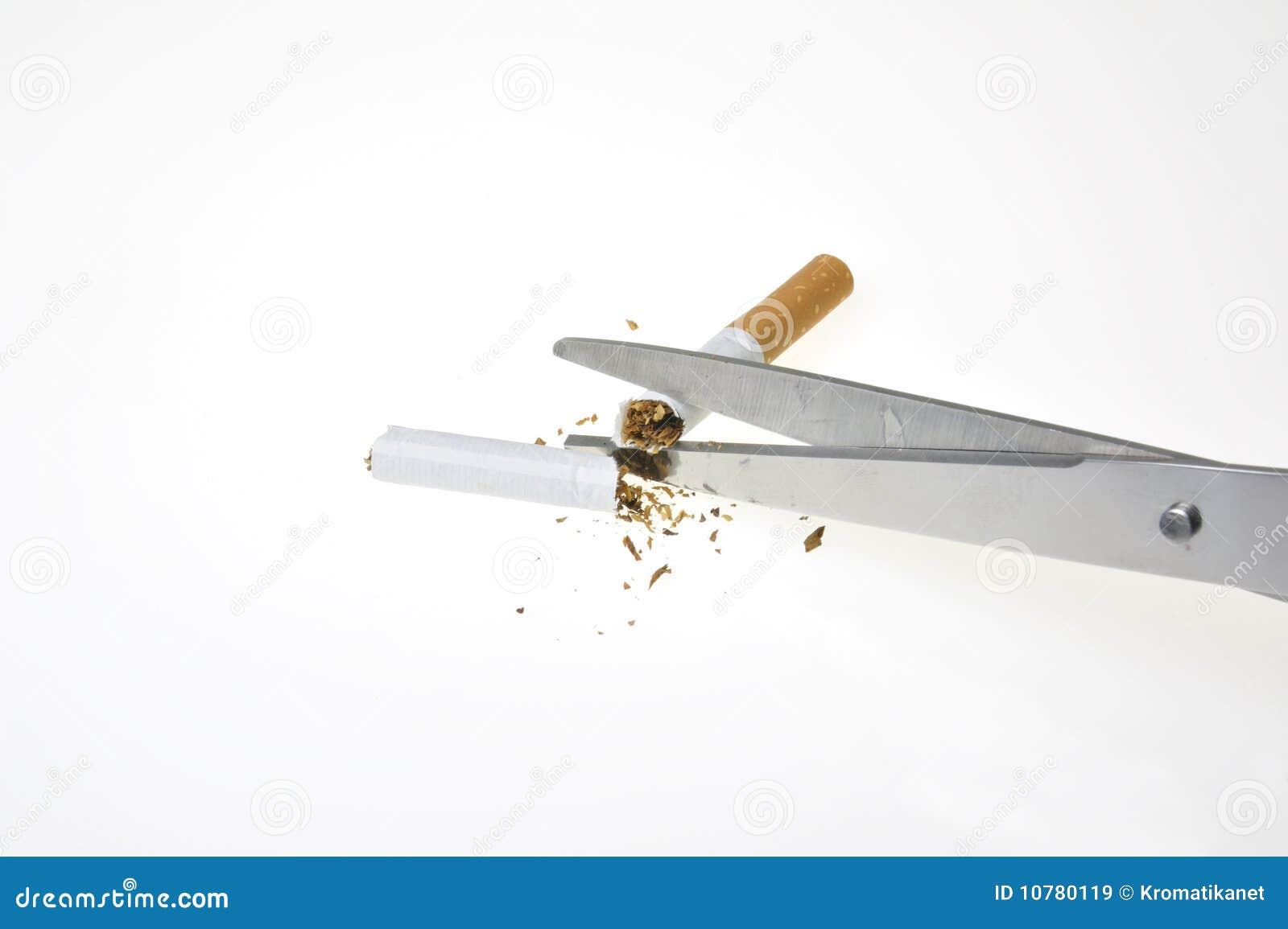 Nr - rokende sigaret