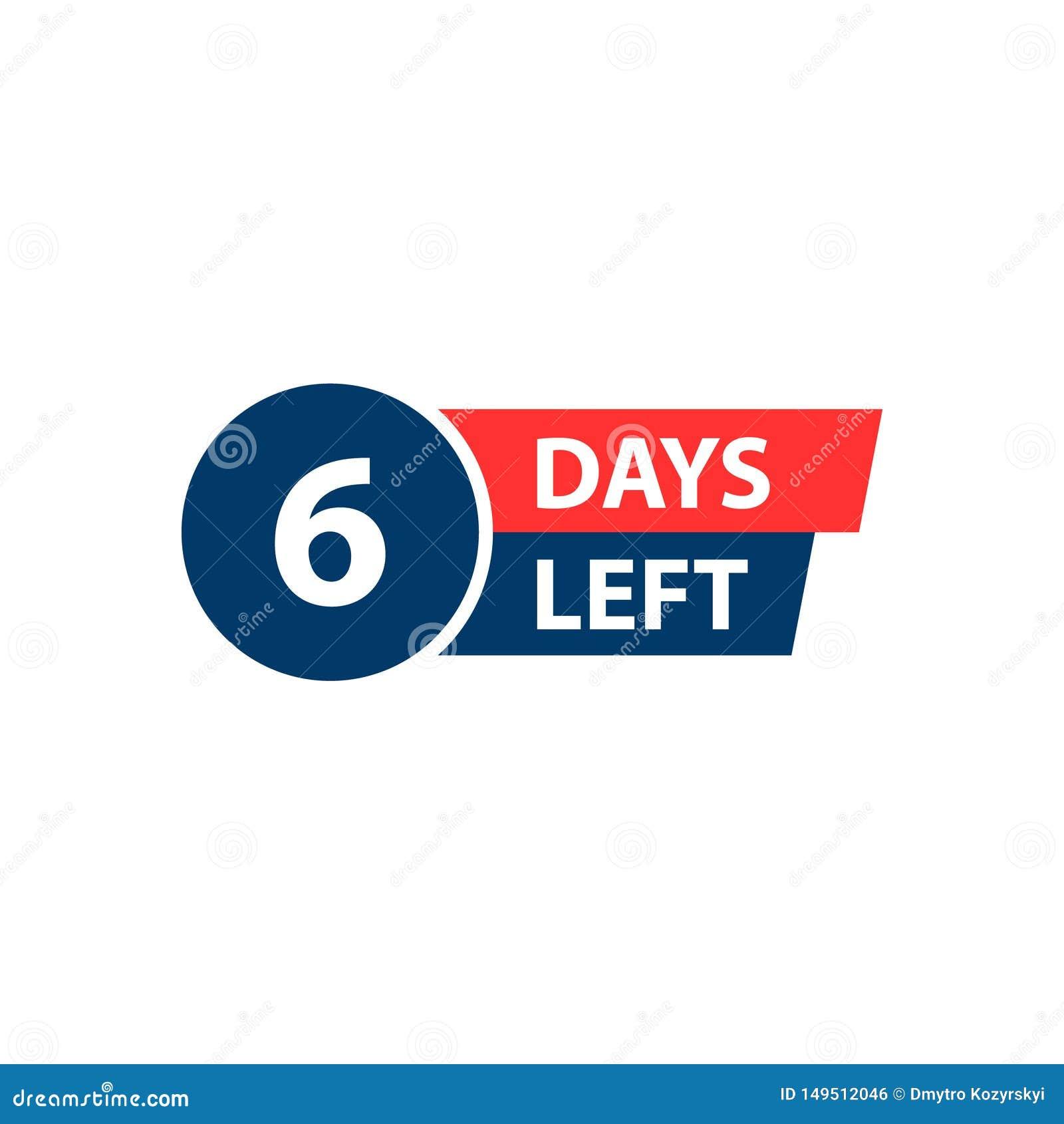 Nr. 6 von den Tagen zu gehen Sammlungsausweisverkauf, Landungsseite, Fahne Auch im corel abgehobenen Betrag