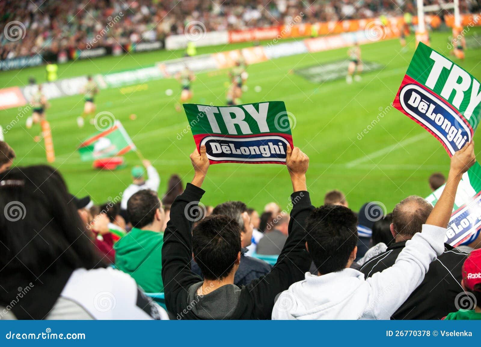 NRL semi-final fans