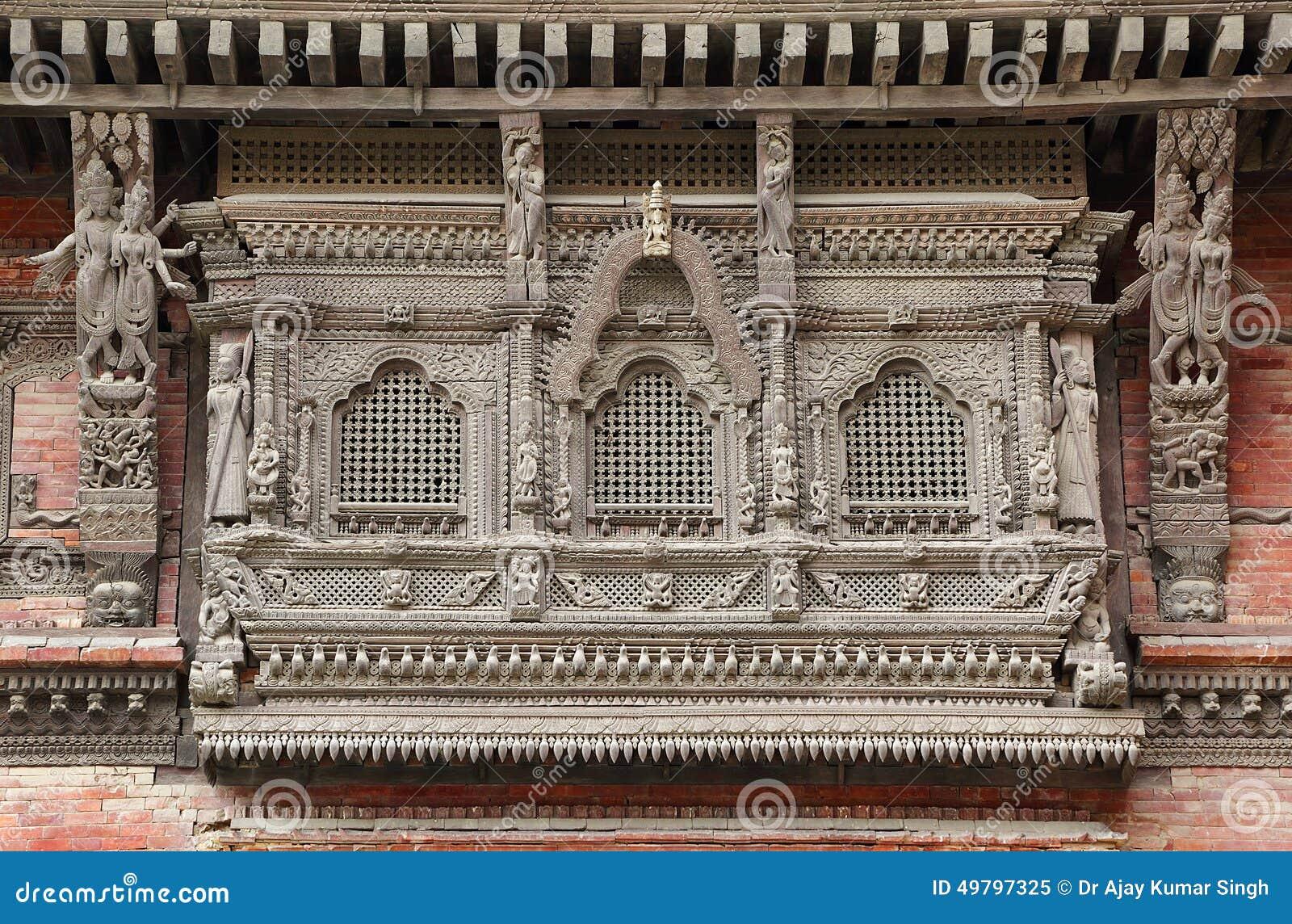 #83A823 Hanuman Dhoka Durbar é situado na central Kathmandu e obtém seu nome  1592 Vidros Nas Janelas